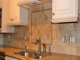 Stone Kitchen Backsplashes Kitchen Tumbled Stone Backsplash Eiforces