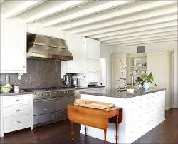 kitchen room marvelous white marble subway tile backsplash