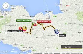 Map Of Tour De France by Stage 8 Rennes To Mur De Bretagne Chaque Etape Du Tour De France