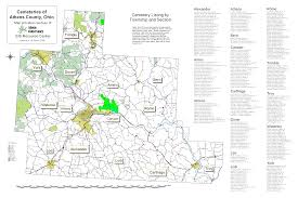 Ohio Map Of Counties by Specialty Maps The Athens Conservancy