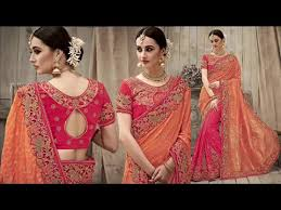 engagement sarees for wedding sarees collection of designer sari online indian