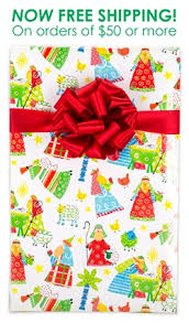 christmas wrap kids nativity christian christmas wrapping paper