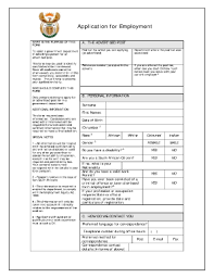 application for employment template forms fillable u0026 printable