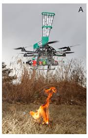 Wildfire Suppression Equipment by Restoring Prairie And Fighting Wildfire With Drone Launched Fire