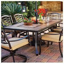 ceramic tile top patio table smartness tile top dining table courtyard classic granada patio