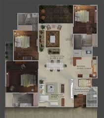 4bhk House 3 4bhk Flats Manglam Radiance Tonk Road Flatinjaipur Com