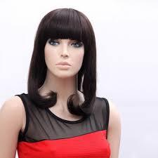 asian woman u0027s wig black long straight hair wig japanese fashion