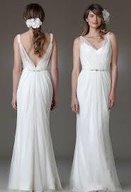 v neck wedding dresses tags boho wedding dress low back v neck ideas for pam s dress