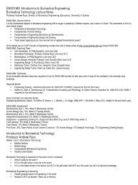 Fundamental Anatomy And Physiology Biomedical Technology Lecture Notes 2015 Biomedical Engineering
