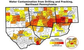 Northeast Map Usa by Usa Map Of Oil Gas Drilling Fracking Sites And Health Safety