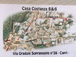 Map Of Capri Italy by Casa Costanza B U0026b Capri Italy Booking Com