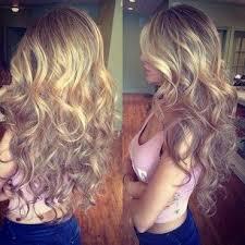Frisuren Lange Haare Volumenwelle by Big Hair Curly Volumen