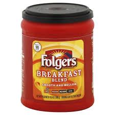 folgers coffee ground breakfast blend mild 10 8 oz 306 g