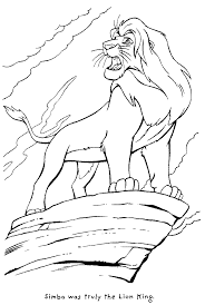 lion king coloring pages kids coloring