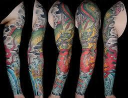 new school water tattoo water stencils sleeve design idea for men and women