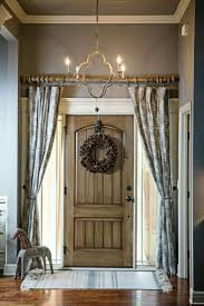 Small Tension Rods For Sidelights by 31 Best Curtains For Narrow Tall Windows Next To Front Door Images