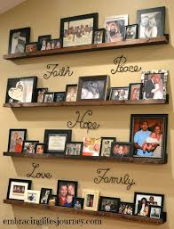 ideas for displaying photos on wall ideas for displaying family photos on wall cityofhope co