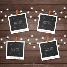 design templates photography free photo frame mockups polaroid picture frame collection vector free download