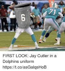 Cutler Meme - miam memes first look jay cutler in a dolphins uniform