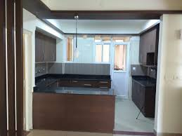 Kitchen Concept by 4bhk Model Apartment Interiors The Creative Axis