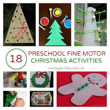 18 christmas fine motor activities for preschoolers