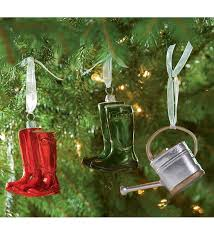 hand painted mouthblown glass christmas ornaments with gardening