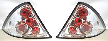 lexus chrome ford mondeo mk3 01 07 chrome lexus back rear tail lights lamps