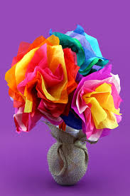 dora mother u0027s day tissue paper flower craft nickelodeon parents