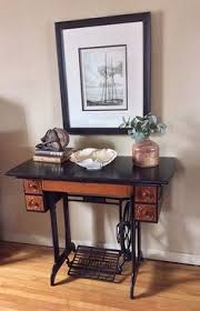 Antique Singer Sewing Machine Table Refurbished Antique Singer Sawing Machine From 1910 New Life For