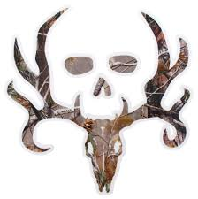 bone collector logo flat decal camouflage qty 1 wall borders