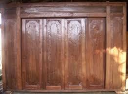 wood accordion doors interior ideas design pics u0026 examples