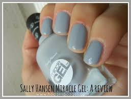 sally hansen miracle gel review nails pinterest sally
