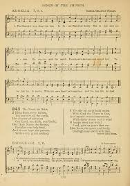 the epworth hymnal containing standard hymns of the church songs