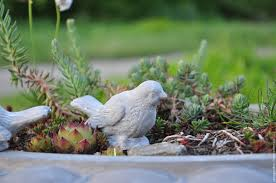 Home And Decor Online Shopping Buy Figurine Of A Bird Made Of Concrete Provence Vintage Home And