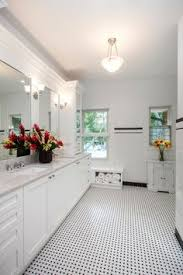 Bathroom In Black Chris U0027 Black And White Bathroom Remodel Amazing Attention To