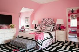Black And White And Pink Bedroom Ideas - bedroom ideas fabulous desk lamps wall color spiral cone legs