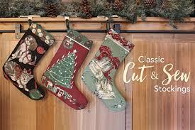 classic classic cut u0026 sew stockings create a traditional christmas