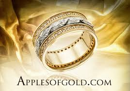 rings bands designs images Floral wedding rings bands with a botanical touch jpg