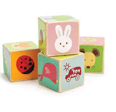 le toy van petilou little leaf blocks