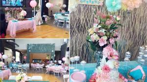 floral boho chic baby shower decor u0026 game planning ideas youtube