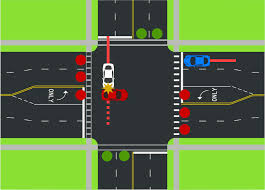 A Flashing Yellow Signal Light Means The Flashing Yellow Arrow And The Yellow Trap Streets Mn