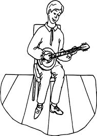 guitar coloring sheet contegri com