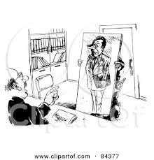 royalty free rf job interview clipart illustrations vector