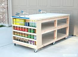 Ideas For Workbench With Drawers Design Workbench Storage Probeta Info