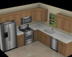 kitchen l ideas ideas l shaped kitchen with flower designs and brown