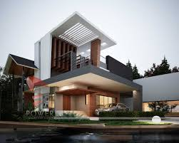 architectural visualization ultra modern architecture house