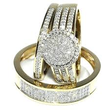 cheap his and hers wedding bands wedding rings his and hers blushingblonde