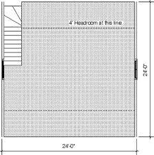download floorplans for our 24 u0027 x 24 u0027 1 car garage kit w workshop