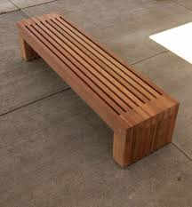 How To Build Wood Bench Best 20 Outdoor Wood Bench Ideas On Pinterest Diy Wood Bench