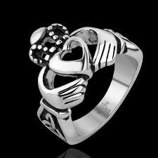 Skull Wedding Rings by 10pcs Lot Death Metal Jewelry Men Stainless Steel Biker Rings
